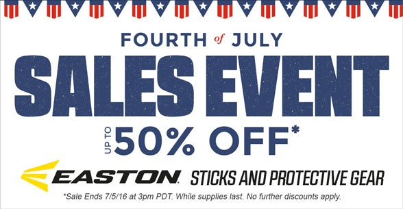 4th of July Sale Event