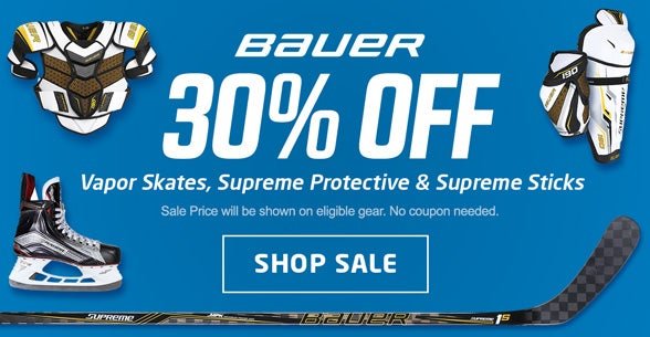 30% Off Bauer Sale
