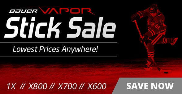 Bauer Vapor Stick Sale