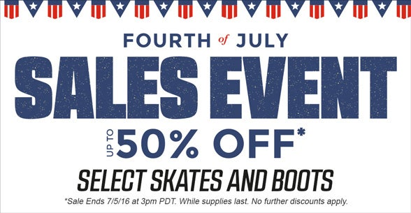 July 4th Sales Event!