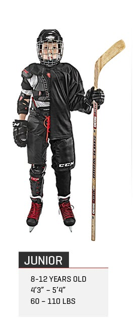 Junior Ice Hockey Gear Packages