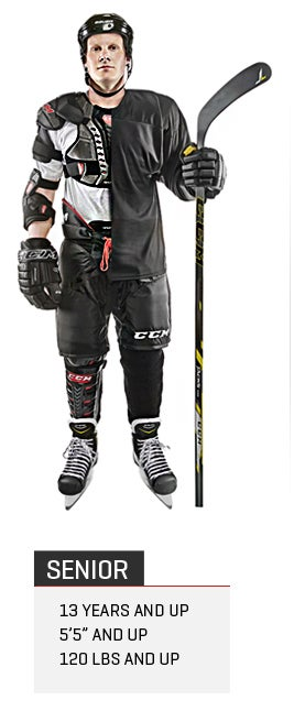 Senior Ice Hockey Gear Packages