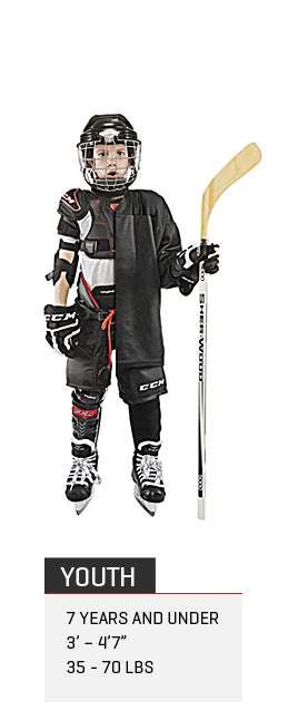 Youth Ice Hockey Gear Packages
