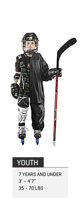 Youth Roller Hockey Gear Package