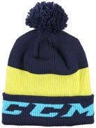 watch f7849 f5ad7 CCM Ice Cold Pom Knit Beanie Junior