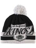 4509cc8ea6685 Los Angeles Kings CCM Cuffed Pom Knit NHL Beanie