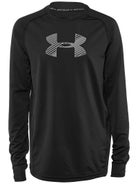 bf91c3c5c Under Armour Big Logo Armour Fitted Perf L/S Shirt Jr