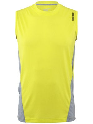 Reebok Workout Sleeveless Poly Tech Shirts