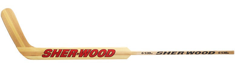 Sherwood G530 Wood Goalie Sticks Yth