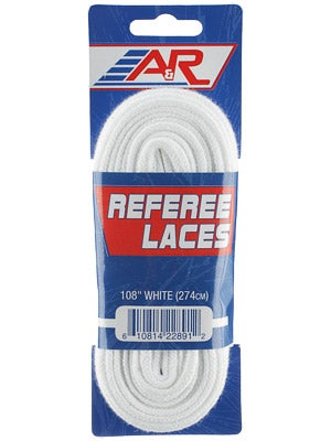 A&R Hockey Referee Skate Laces Unwaxed