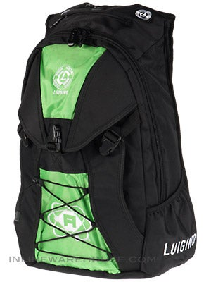Luigino Atom Backpack Black/Green