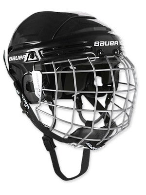 Bauer 2100 Hockey Helmets w/Cage