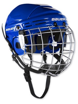 Bauer 2100 Hockey Helmets w/Cage Jr
