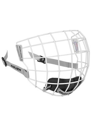 Bauer 5100 White Hockey Helmet Cages MD
