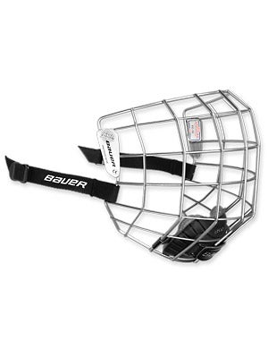 Bauer 7500 Silver Hockey Helmet Cages Sr & Jr