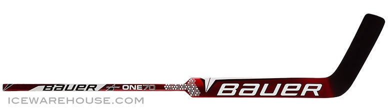 Bauer Supreme One70 Goalie Sticks RED Int FULL RIGHT