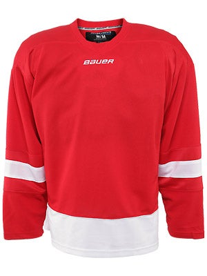 Detroit Red Wings Bauer 800 Series Uncrested Jersey Sr