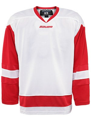 Detroit Red Wings Bauer 800  Uncrested Jerseys Sr MD