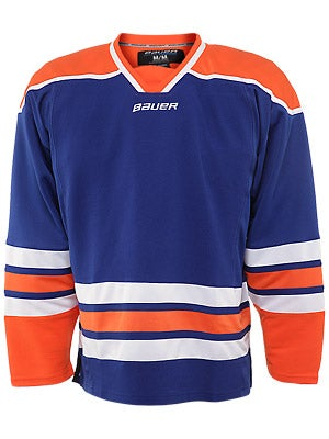Edmonton Oilers Bauer 800  Uncrested Jerseys Sr