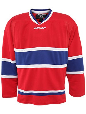 Montreal Canadiens Bauer 800 Uncrested Jerseys Sr