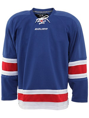 New York Rangers Bauer 800 Series Uncrested Jersey Sr