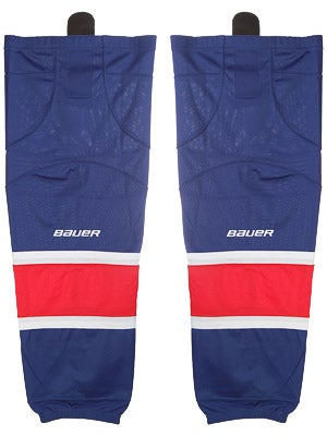 New York Rangers Bauer 800 Series Socks Sr
