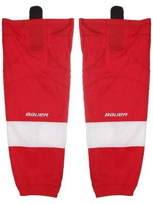 Detroit Red WIngs Bauer 800 Series Socks Jr L/XL