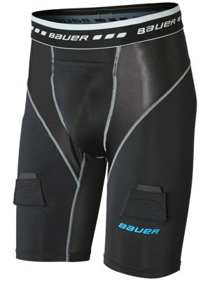 Bauer Core Compression Hockey Jock Short Sr & Jr
