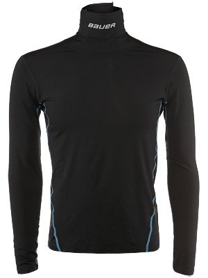 Bauer NG Core NECKPROTECT Performance L/S Shirt Sr