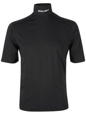 Bauer Core Perf S/S Shirt w/Integrated Neck Top Sr