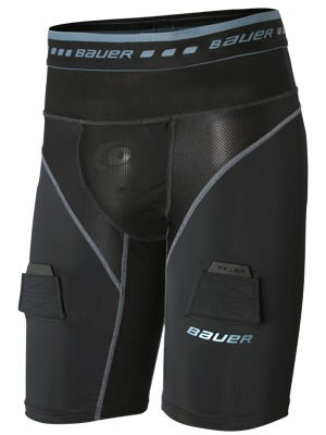 Bauer Elite Compression Hockey LockJock Short Sr XS