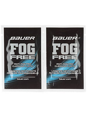 Bauer Fog Free Cloths 2-Pack
