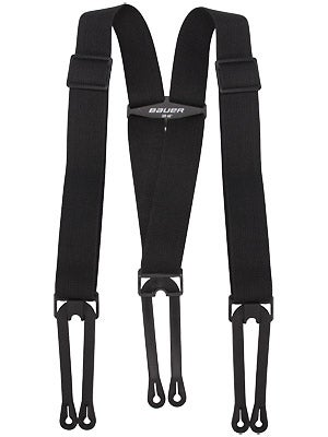 Bauer Hockey Pant Suspenders Sr & Jr
