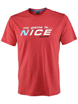 Bauer My Game is Nice Shirt Sr