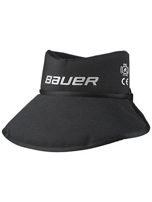 Bauer NG NLP8 Core Neck Guard w/Bib Sr & Jr