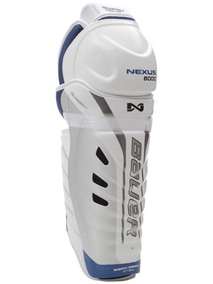 Bauer Nexus 8000 Hockey Shin Guards Jr