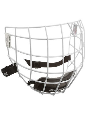 Bauer Profile II White Hockey Helmet Cages