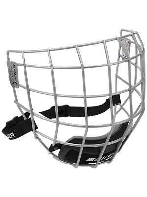 Bauer Profile II Silver Hockey Helmet Cages