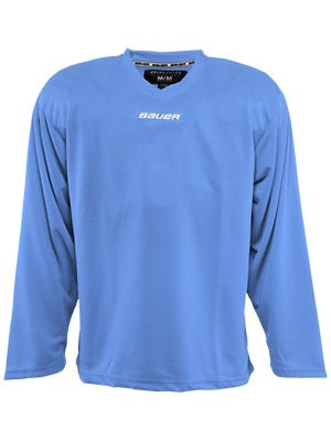 Bauer Core 6001 Practice Hockey Jersey Columbia Jr