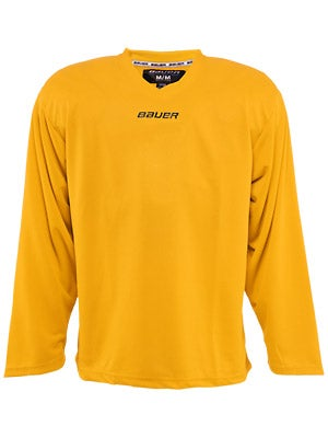 Bauer Core 6001 Practice Hockey Jersey Gold Jr