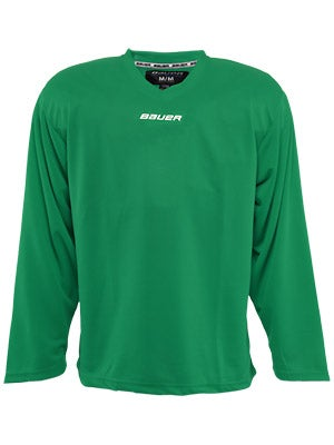 Bauer Core 6001 Practice Hockey Jersey Green Jr