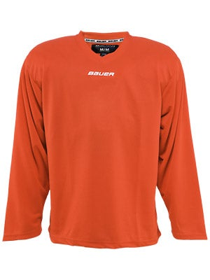 Bauer Core 6001 Practice Hockey Jersey Orange Jr