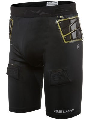 Bauer 37.5 Elite Padded Comp Hockey Jock Short Sr