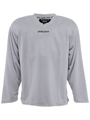Bauer Core 6001 Practice Hockey Jersey Silver Sr