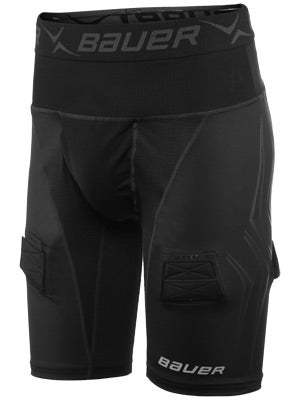Bauer NG 37.5 Premium Comp Hockey LockJock Short Sr