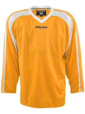Bauer Premium 6002 Hockey Jersey Gold Jr