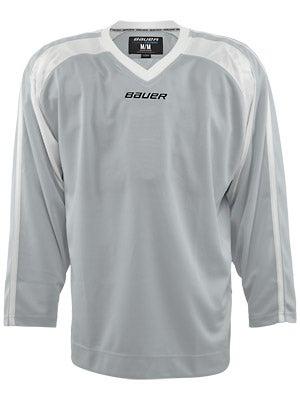 Bauer Premium 6002 Hockey Jersey Silver Sr