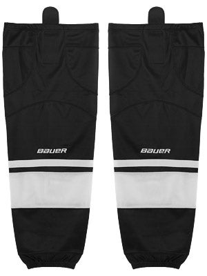 Bauer Premium 0575 Ice Hockey Socks Black/White Jr