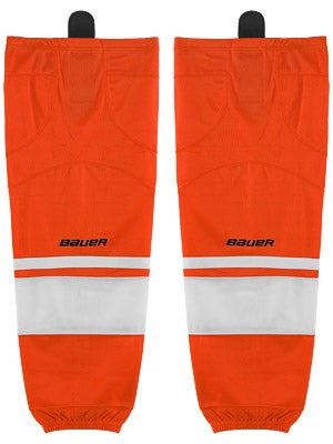 Bauer Premium 0575 Ice Hockey Socks Orange Jr