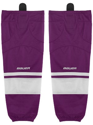 Bauer Premium 0575 Ice Hockey Socks Purple Jr